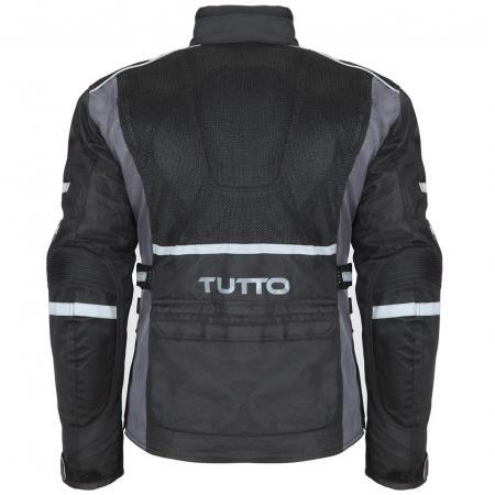 Jaqueta Tutto Leonardo Summer Preta (verão) só (L/4X/5X)  - Nova Centro Boutique Roupas para Motociclistas