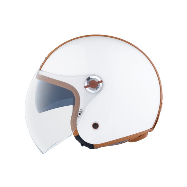 Capacete Nexx X70 Groovy Branco  - Nova Centro Boutique Roupas para Motociclistas