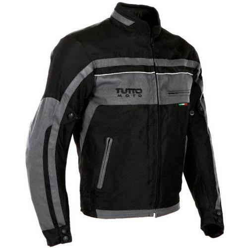 Jaqueta Tutto Fyber Cinza 100% Impermeável (Fiber) (XS/PP)  - Nova Centro Boutique Roupas para Motociclistas