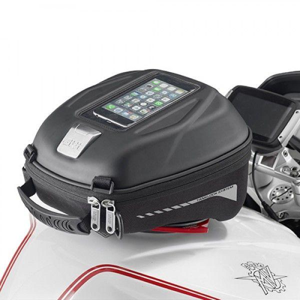 Bolsa de tanque Givi ST602 DE 4 LITROS COM SISTEMA TANKLOCK (ENGATE RAPIDO)  - Nova Centro Boutique Roupas para Motociclistas