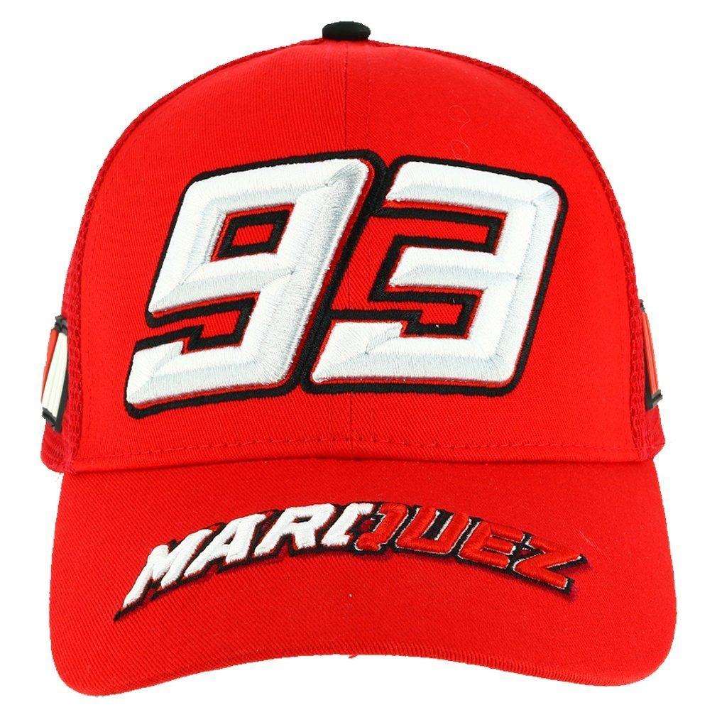 Boné Marc Marquez - Vermelho  - Nova Centro Boutique Roupas para Motociclistas