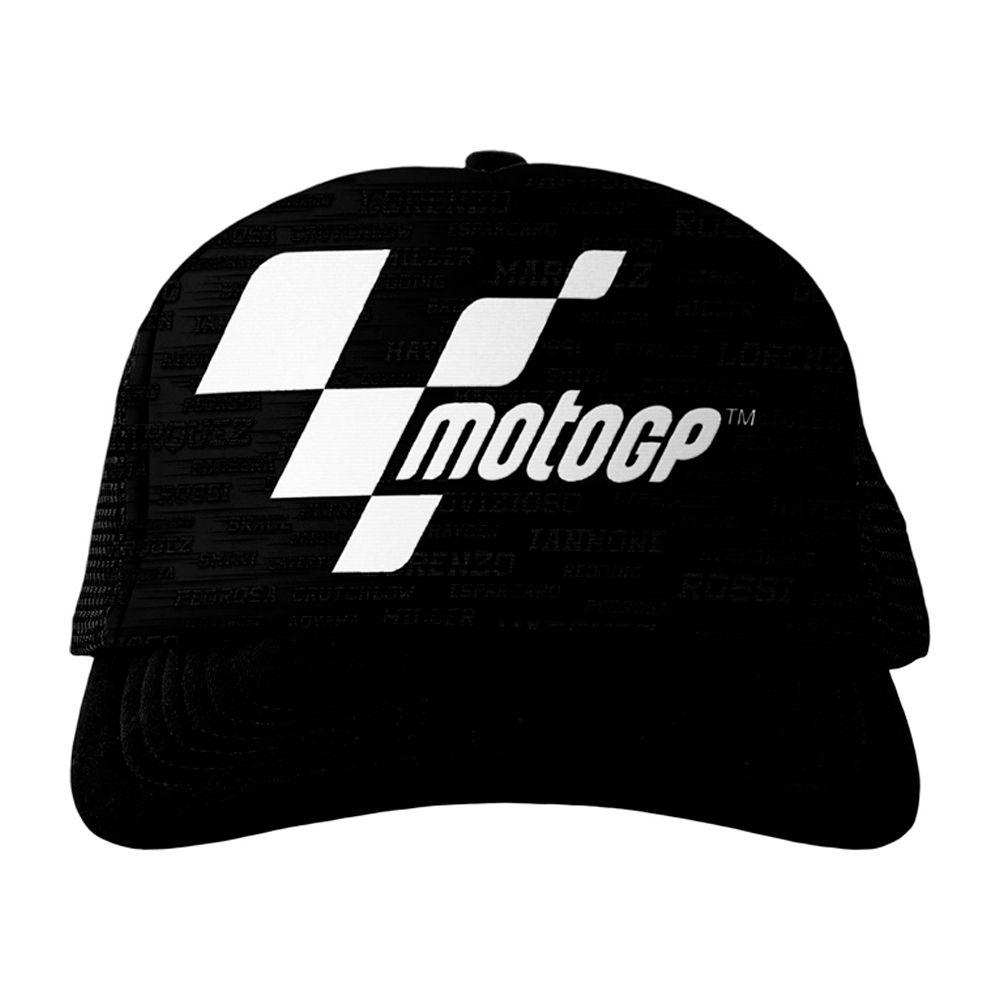 Boné MotoGP Fan Racing - Black  - Nova Centro Boutique Roupas para Motociclistas