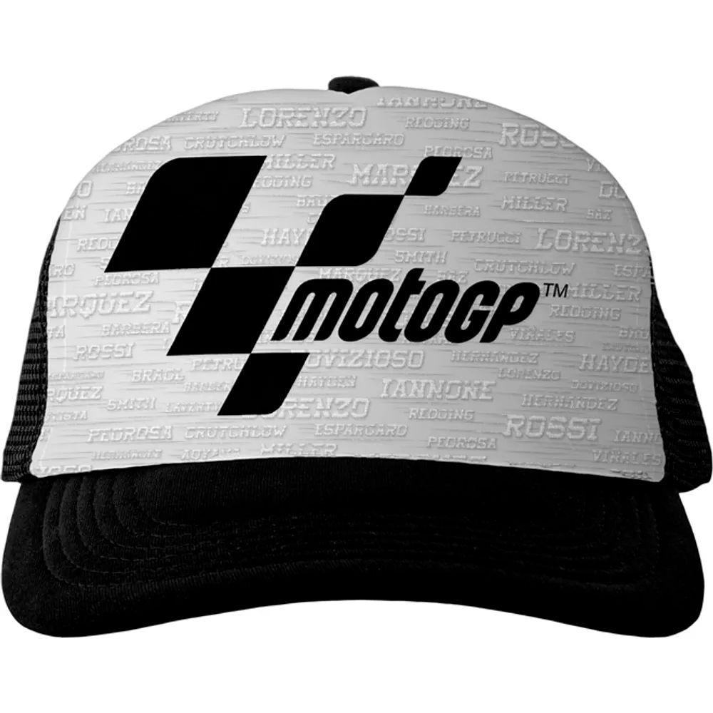 Boné MotoGP Fan Racing - White  - Nova Centro Boutique Roupas para Motociclistas