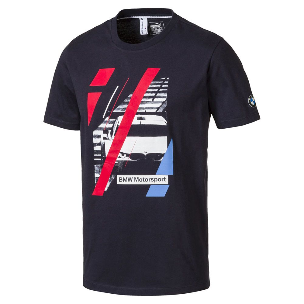 Camiseta BMW Graphic Puma Azul Oficial