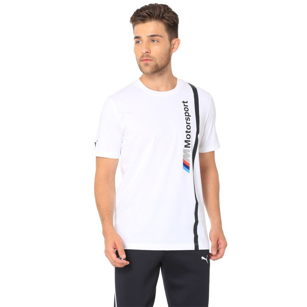 Camiseta BMW MMS Logo Branco