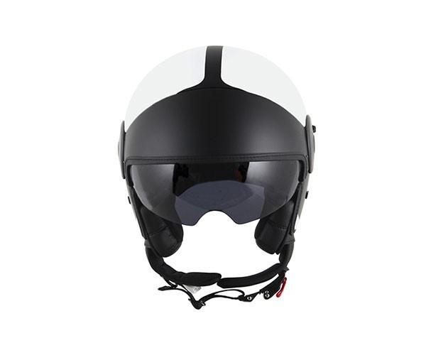 Capacete LS2 Cabrio Via Branco Aberto  - Nova Centro Boutique Roupas para Motociclistas
