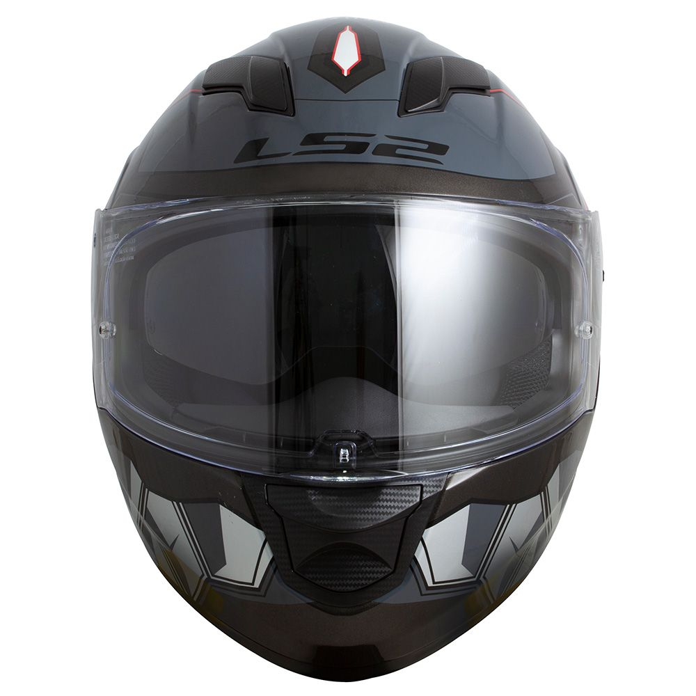 Capacete LS2 FF320 Angel (C/ VISEIRA SOLAR) Cinza  - Nova Centro Boutique Roupas para Motociclistas