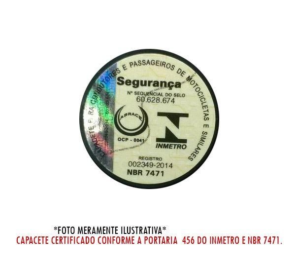 Capacete LS2 FF320 Crown (C/ VISEIRA SOLAR) Branco/Preto/Vermelho  - Nova Centro Boutique Roupas para Motociclistas