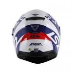 Capacete LS2 FF320 Podium Branco/Azul/Vermelho (C/VISEIRA SOLAR)  - Nova Centro Boutique Roupas para Motociclistas
