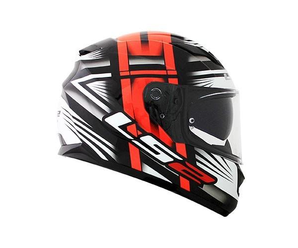 Capacete LS2 FF320 STRAM BANG VERMELHO  - Nova Centro Boutique Roupas para Motociclistas