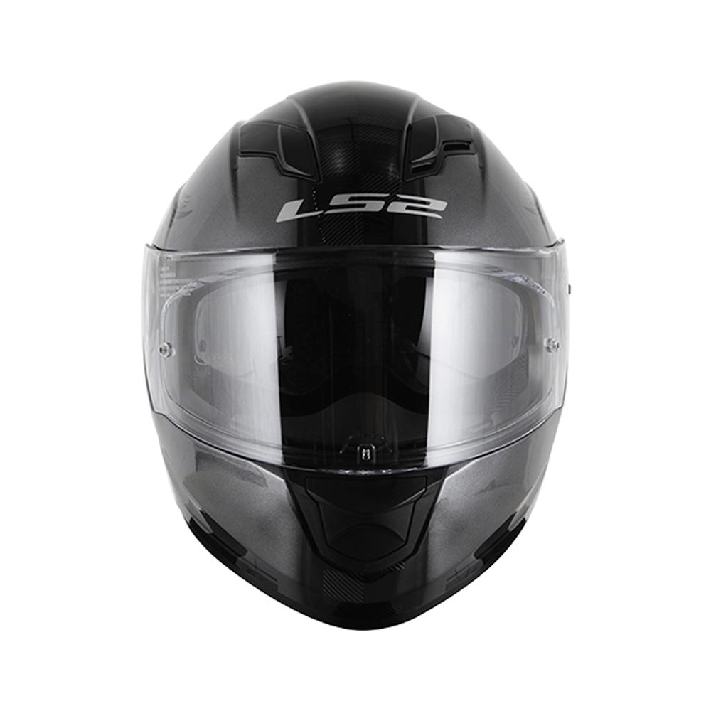 Capacete LS2 FF320 STREAM GARAGE ANTHRACITE  - Nova Centro Boutique Roupas para Motociclistas