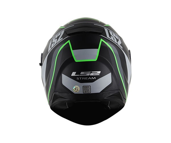 Capacete LS2 FF320 Stream Vantage Black/Green (C/VISEIRA SOLAR) (CONFIRMAR NUMERAÇÃO)  - Nova Centro Boutique Roupas para Motociclistas