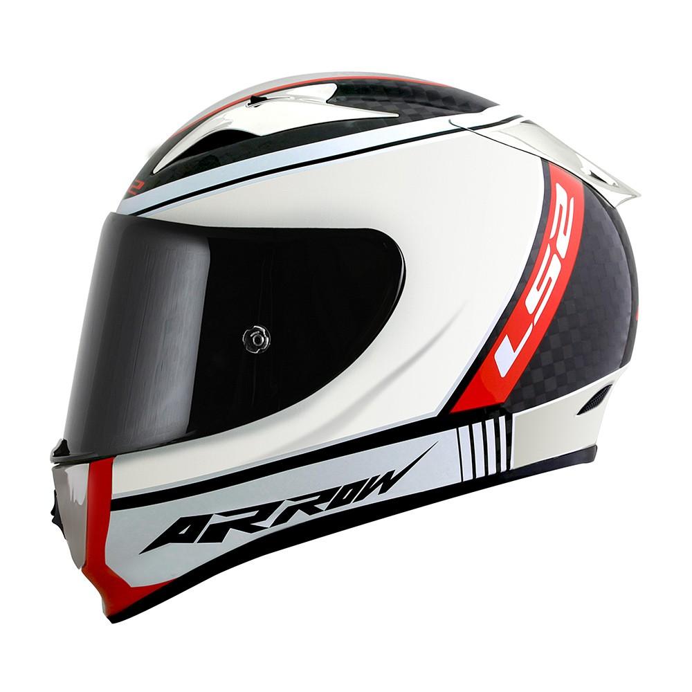 Capacete LS2 FF323  Arrow Indy Carbono Chrome