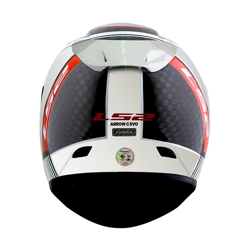 Capacete LS2 FF323  Arrow Indy Carbono Chrome  - Nova Centro Boutique Roupas para Motociclistas