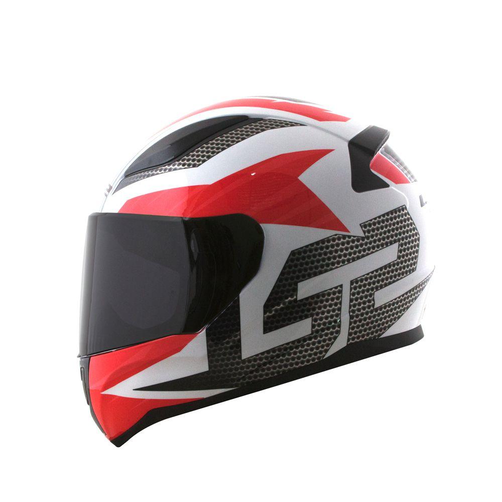 Capacete LS2 FF353 Rapid Grid   - Nova Centro Boutique Roupas para Motociclistas