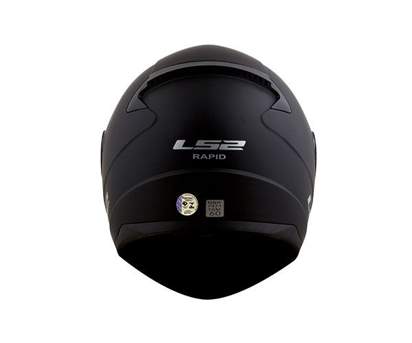 Capacete LS2 FF353 Rapid Monocolor Preto Fosco  - Nova Centro Boutique Roupas para Motociclistas