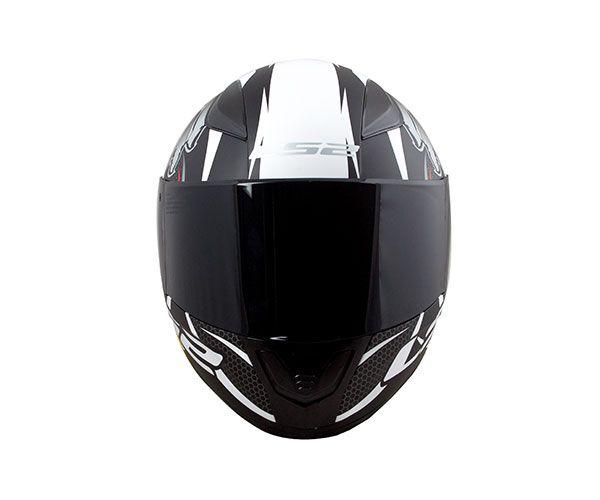 Capacete LS2 FF353 Rapid Réplica Alex Barros (Cinza)  - Nova Centro Boutique Roupas para Motociclistas