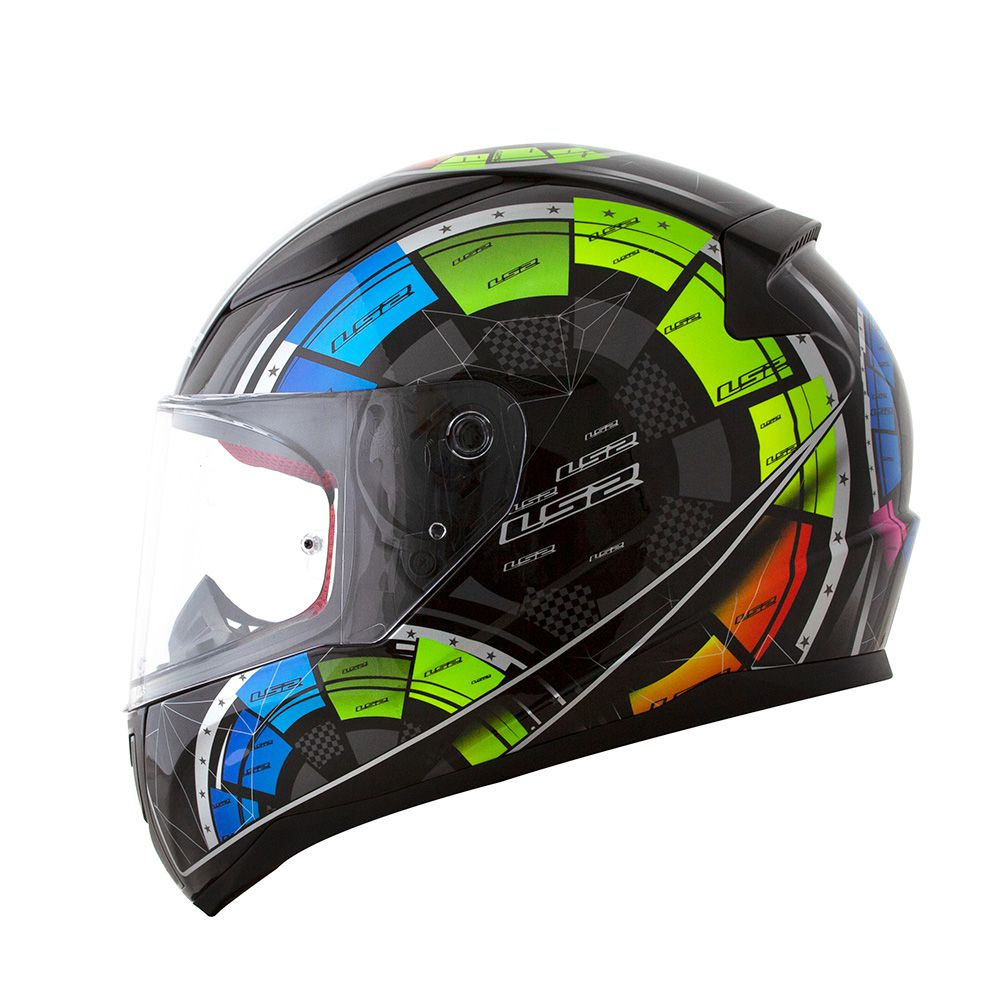 Capacete LS2 FF353 Rapid Tech - Preto