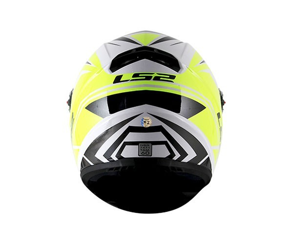 Capacete LS2 FF358 Blade Branco / amarelo   - Nova Centro Boutique Roupas para Motociclistas