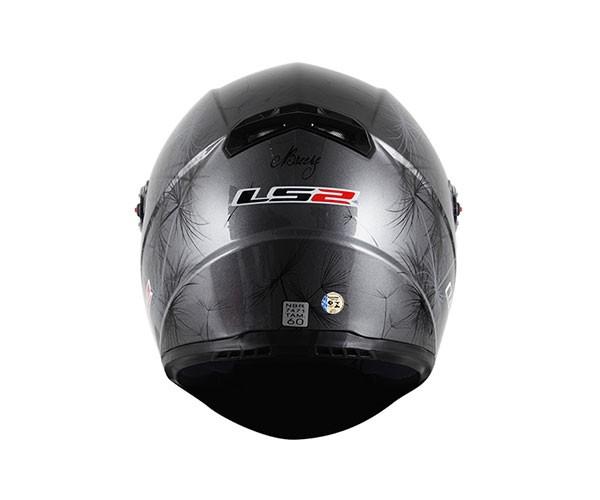 Capacete LS2 FF358 Breeze Preto Feminino  - Nova Centro Boutique Roupas para Motociclistas