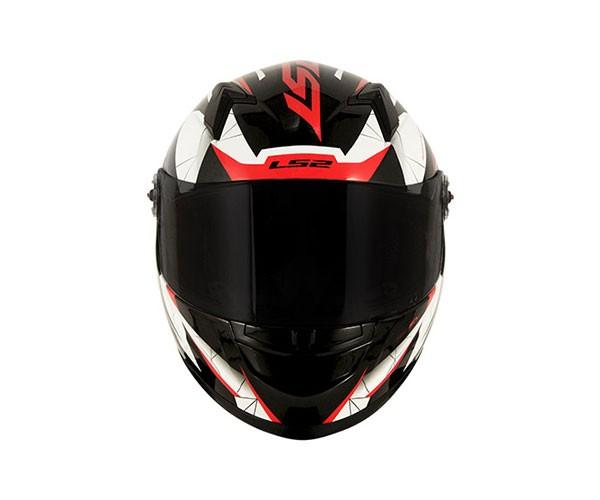 Capacete LS2 FF358 DRAZE Vermelho   - Nova Centro Boutique Roupas para Motociclistas