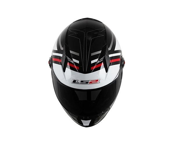 Capacete LS2 FF358 Mohican Cinza   - Nova Centro Boutique Roupas para Motociclistas