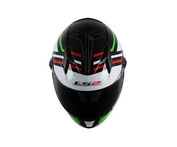 Capacete LS2 FF358 Mohican Verde  - Nova Centro Boutique Roupas para Motociclistas
