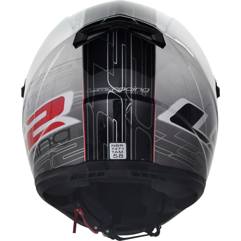 Capacete LS2 FF358 Racing  - Nova Centro Boutique Roupas para Motociclistas