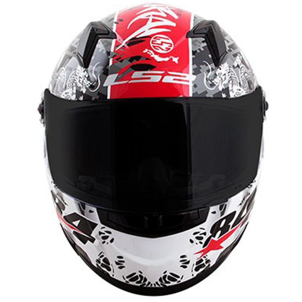 Capacete LS2 FF358 Samurai Réplica Diego Pierluigi  - Nova Centro Boutique Roupas para Motociclistas