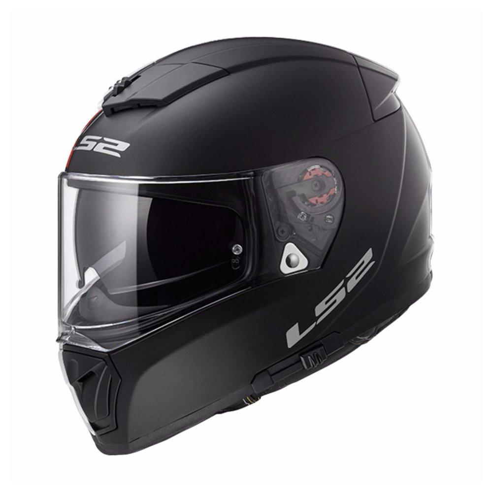 Capacete LS2 FF390 Breaker Matt Black  - Nova Centro Boutique Roupas para Motociclistas