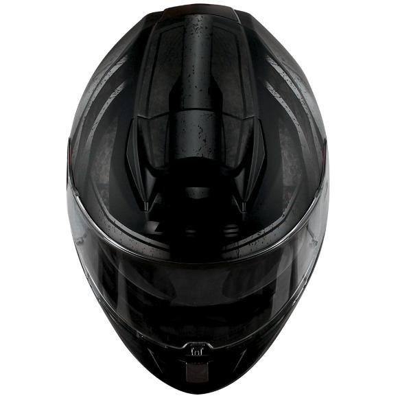 CAPACETE LS2 FF397 VECTOR RAZOR (C/ VISEIRA SOLAR) PRETO FOSCO/PRATA/CINZA  - Nova Centro Boutique Roupas para Motociclistas