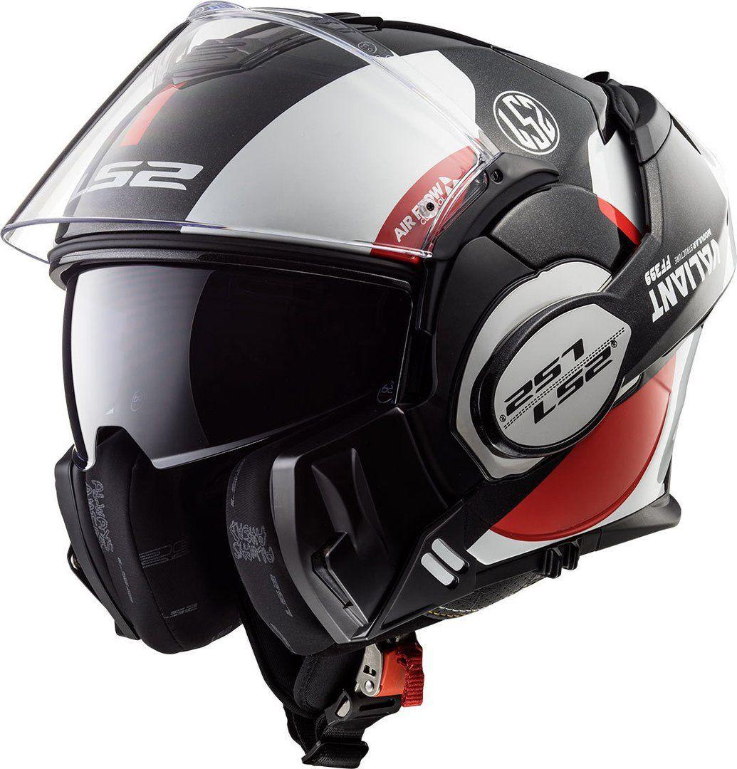 Capacete LS2 FF399 Valiant Avant C/ VISEIRA SOLAR Articulado  - Nova Centro Boutique Roupas para Motociclistas