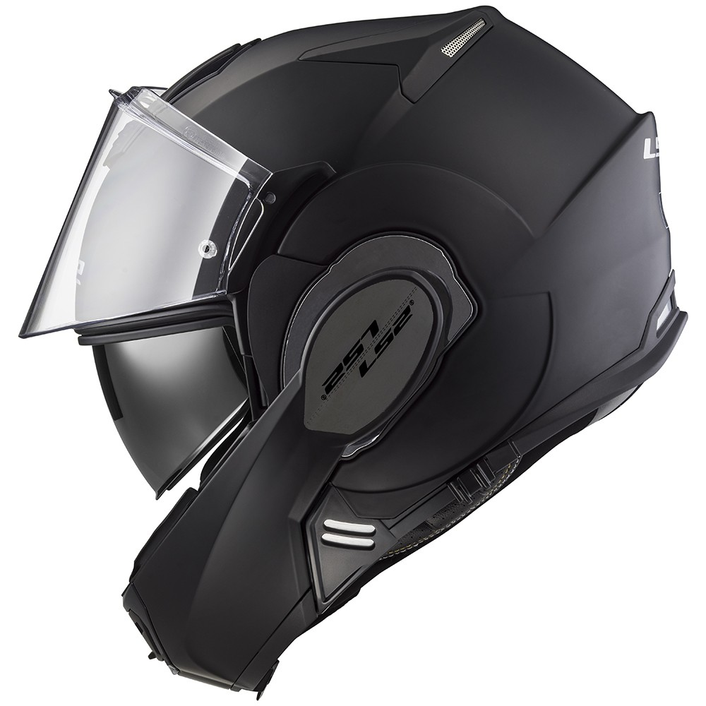 Capacete LS2 FF399 Valiant Preto Fosco C/ VISEIRA SOLAR Articulado - !!! CONSULTE-NOS !!!  - Nova Centro Boutique Roupas para Motociclistas