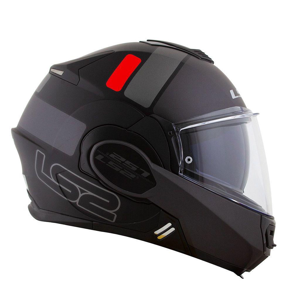 Capacete LS2 FF399 Valiant PROX C/ VISEIRA SOLAR Articulado  - Nova Centro Boutique Roupas para Motociclistas