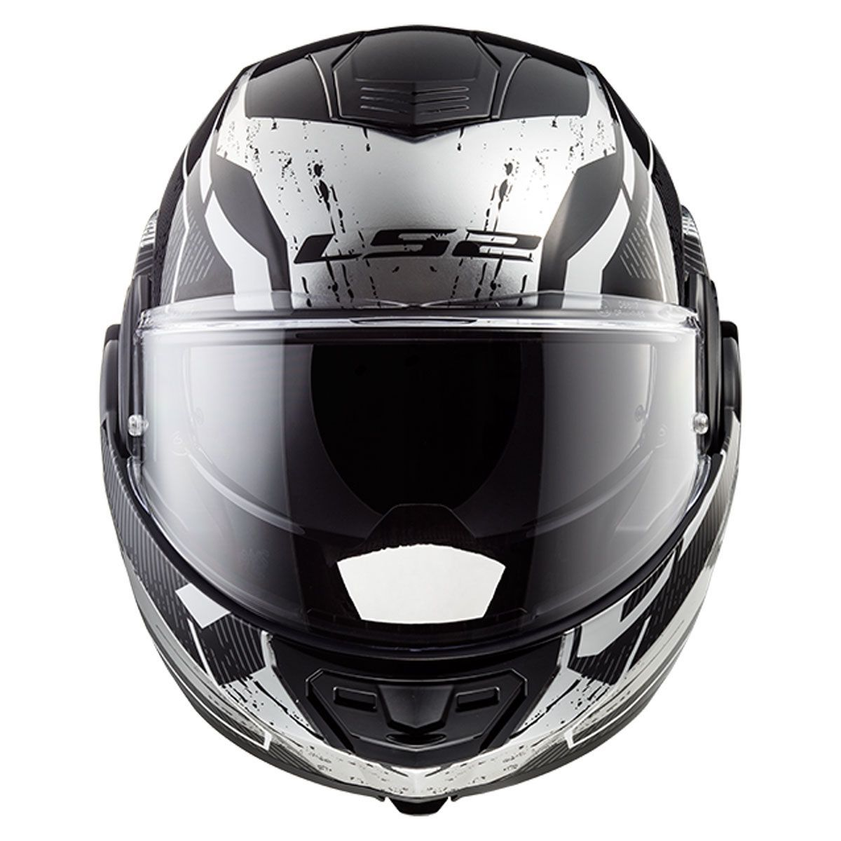 Capacete LS2 FF399 Valiant Roboto C/ VISEIRA SOLAR Articulado  - Nova Centro Boutique Roupas para Motociclistas
