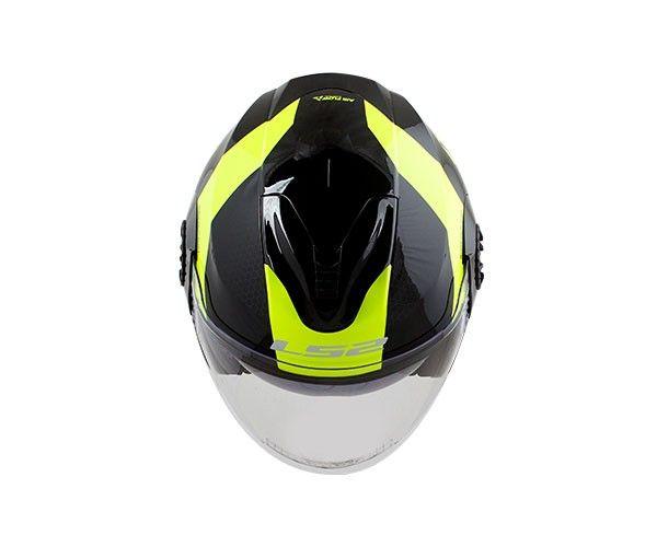 Capacete Ls2 FF570 Verso Technik Black/Yellow  - Nova Centro Boutique Roupas para Motociclistas