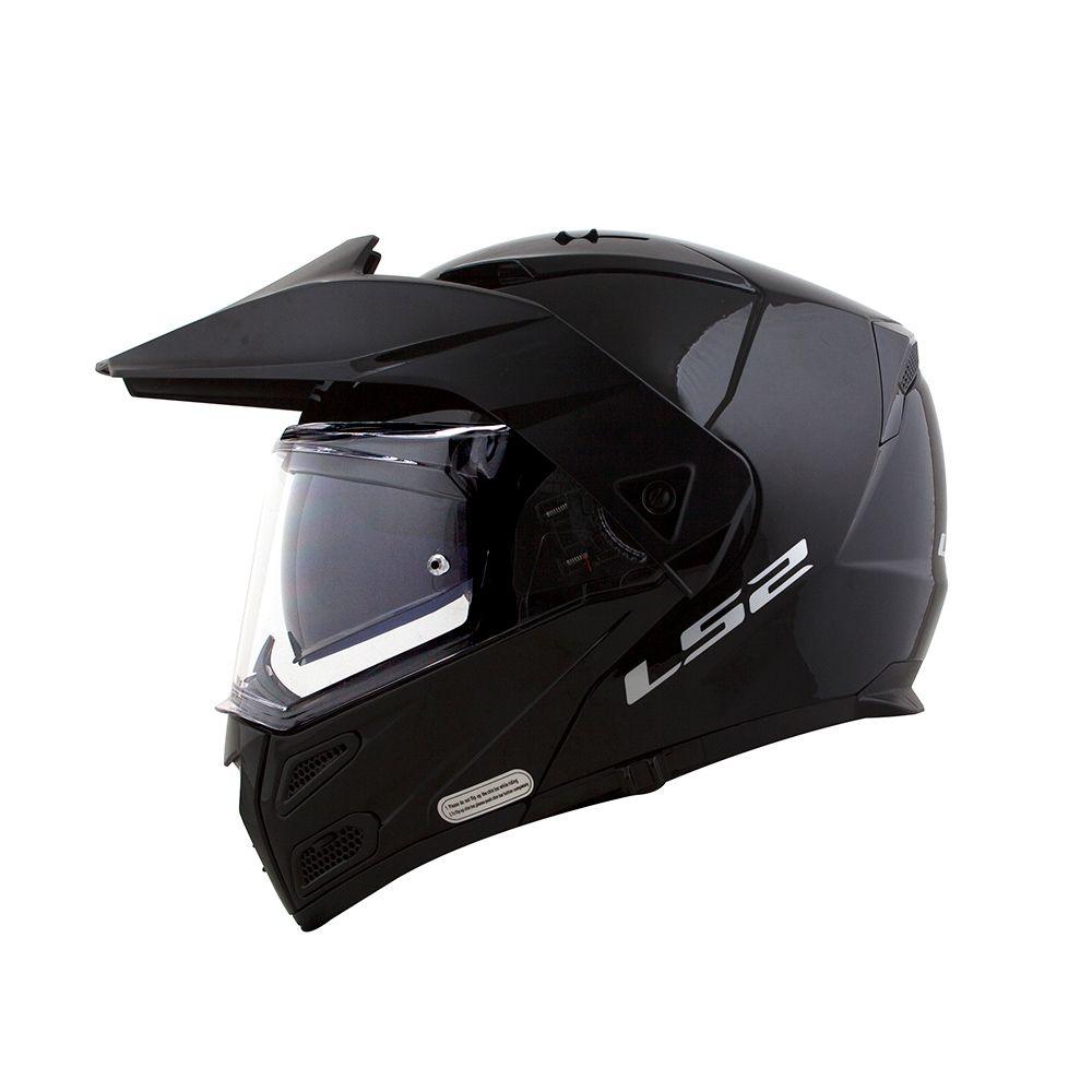 Capacete LS2  Metro FF324 Gloss Black