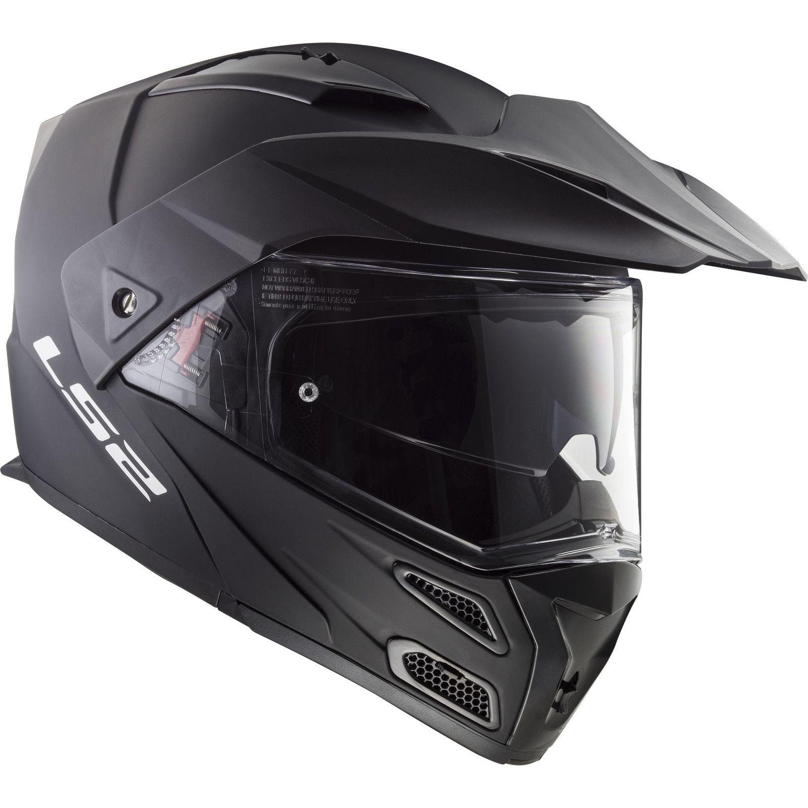 Capacete LS2  Metro FF324 Matt Black  - Nova Centro Boutique Roupas para Motociclistas