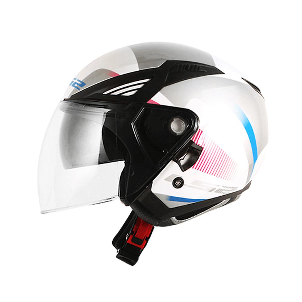CAPACETE LS2 OF586 BISHOP TYRELL (ABERT C/ VISEIRA SOLAR)  - Nova Centro Boutique Roupas para Motociclistas