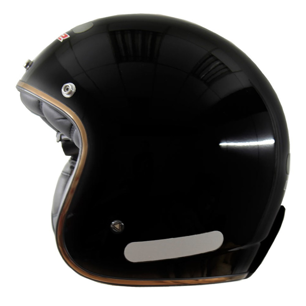Capacete LS2 OF583 Preto Brilhante (OF 583)  - Nova Centro Boutique Roupas para Motociclistas