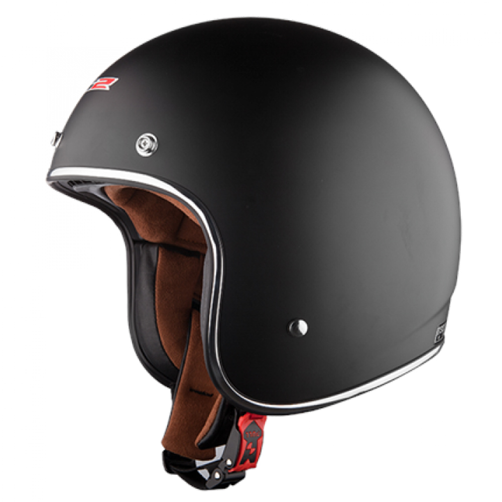 Capacete LS2 OF583 Preto Fosco (OF 583)  - Nova Centro Boutique Roupas para Motociclistas