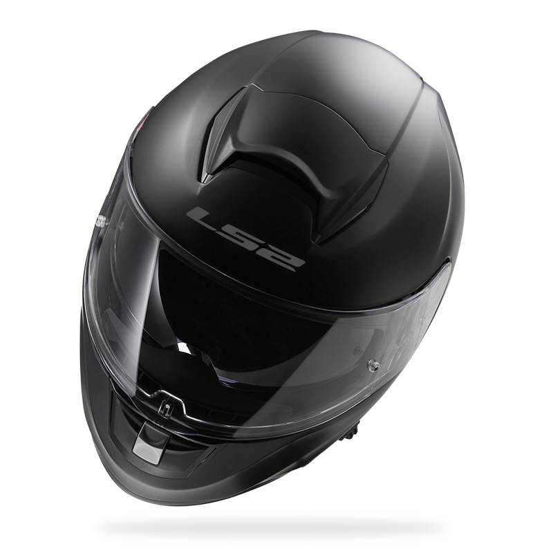 Capacete LS2 Vector FF397  Mono Matt Black  - Nova Centro Boutique Roupas para Motociclistas