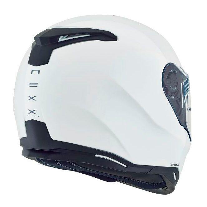 Capacete Nexx SX100 Core Edition Branco  - Nova Centro Boutique Roupas para Motociclistas