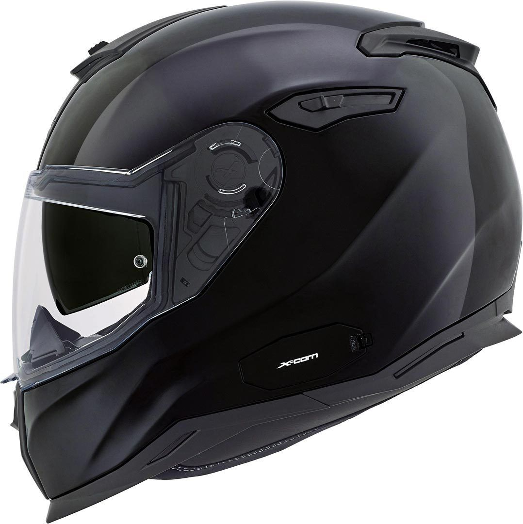 Capacete Nexx SX100 Core Edition Preto Brilho  - Nova Centro Boutique Roupas para Motociclistas