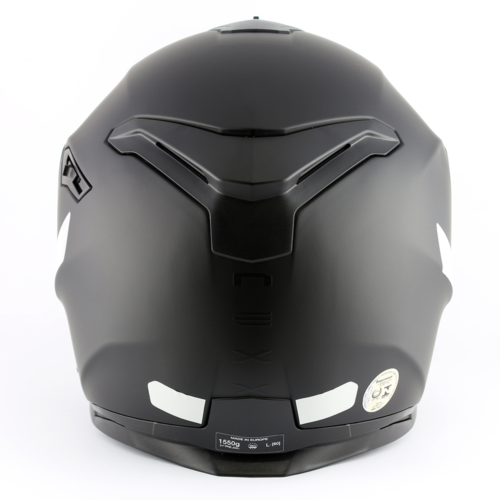 Capacete Nexx SX100 Core Edition Preto Fosco  - Nova Centro Boutique Roupas para Motociclistas
