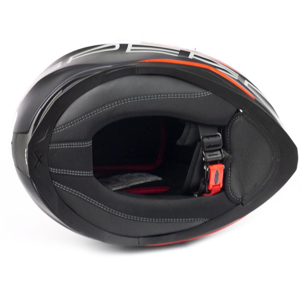 Capacete Nexx SX100 Super Speed Azul + Pinlock  - Nova Centro Boutique Roupas para Motociclistas