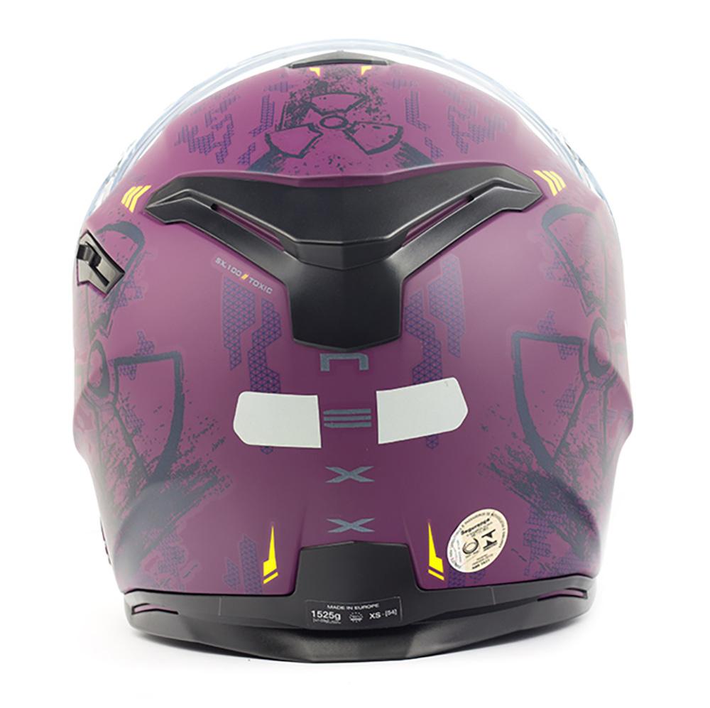 Capacete Nexx SX100 Toxic Rosa/Roxo Fosco + Pinlock - LANÇAMENTO 2019 - Black Friday  - Nova Centro Boutique Roupas para Motociclistas