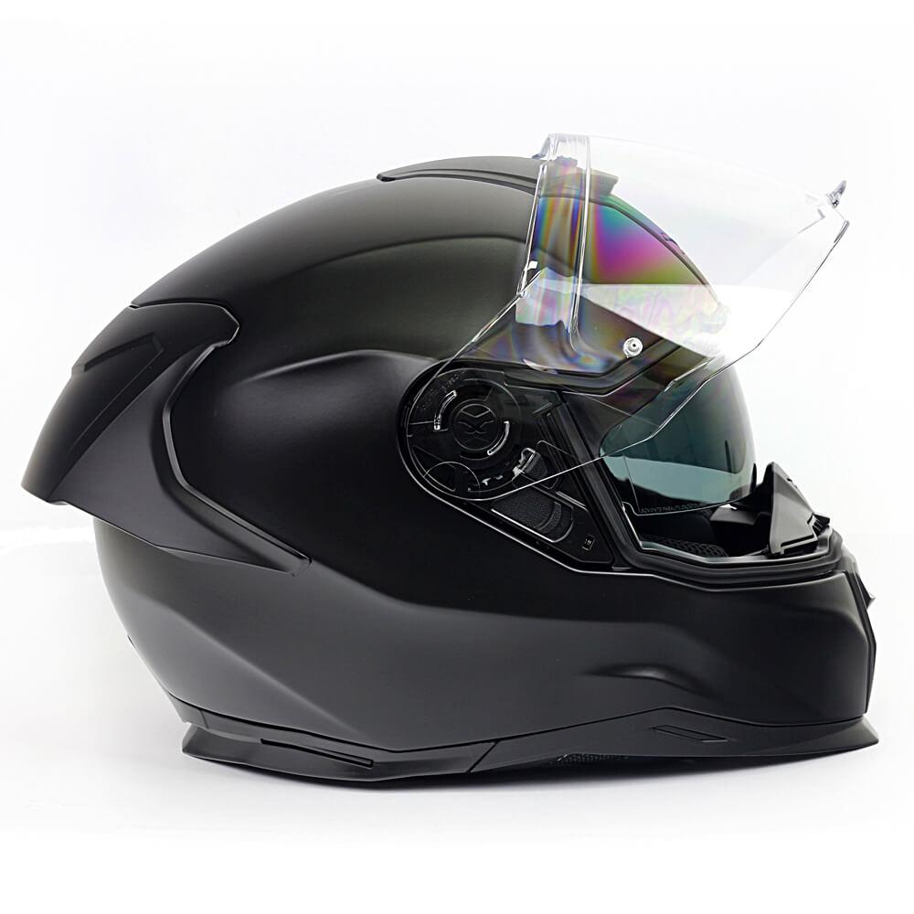 Capacete Nexx SX100R Preto Fosco + Pinlock - LANÇAMENTO 2020  - Nova Centro Boutique Roupas para Motociclistas