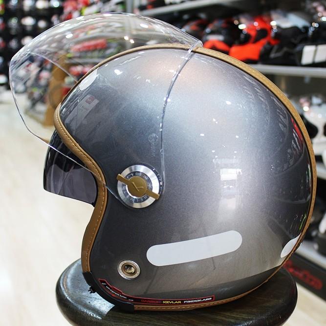 Capacete NEXX X70 Titanium Caramelo - Tri-composto  - Nova Centro Boutique Roupas para Motociclistas