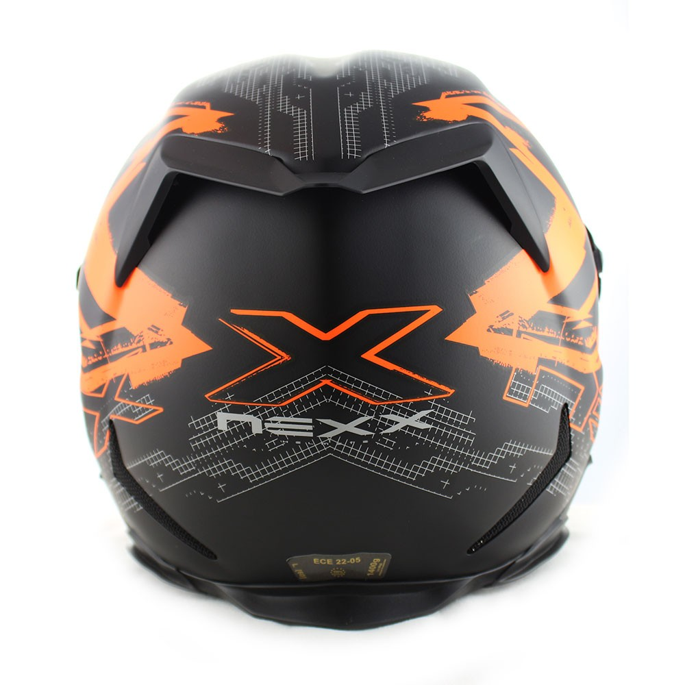 Capacete Nexx XR2 Acid Neon Laranja Fosco - (LANÇAMENTO)  - Nova Centro Boutique Roupas para Motociclistas